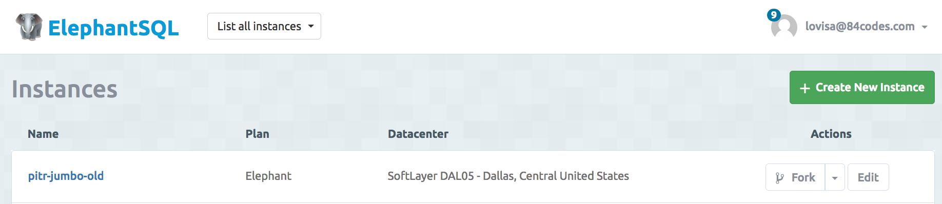 Documentation | ElephantSQL